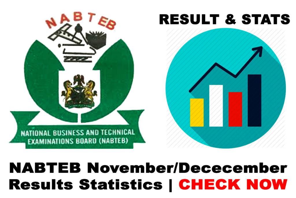 2019 NABTEB November/December Exam Results Statistics | CHECK NOW