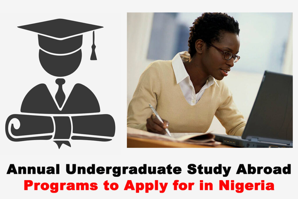 Top 10 Best Annual Undergraduate Study Abroad Programs to Apply for in Nigeria | CHECK NOW