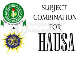 JAMB and WAEC (O'Level) Subject Combination for Hausa