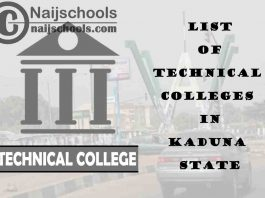 Full List of Technical Colleges in Kaduna State Nigeria