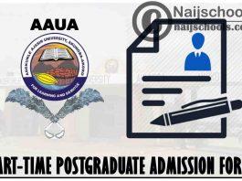 Adekunle Ajasin University Akungba-Akoko (AAUA) Part-Time Postgraduate Admission Form for 2021/2022 Academic Session | APPLY NOW
