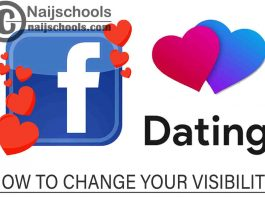 How to Change Your Profile Visibility on Facebook Dating